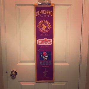 Other - Cleveland Cavs banner